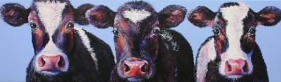 cow painting emilia hattie and alice