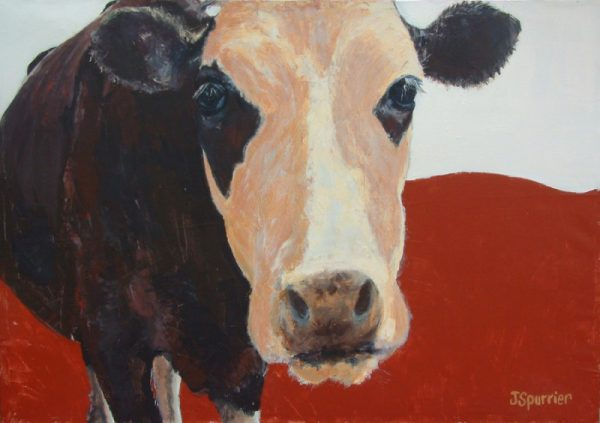 cow painting spike