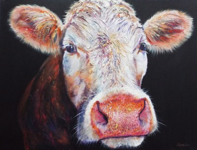 Olwen original cow painting
