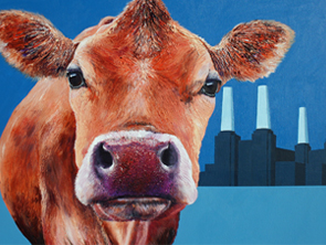 cow painting nora battersea